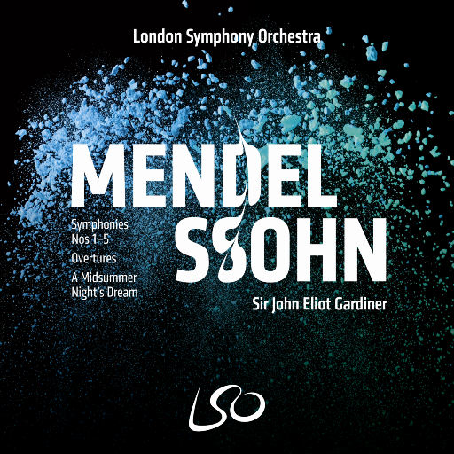 门德尔松: 第1-5交响曲, 序曲, 仲夏夜之梦(A Midsummer Night's Dream),London Symphony Orchestra,Sir John Eliot Gardiner