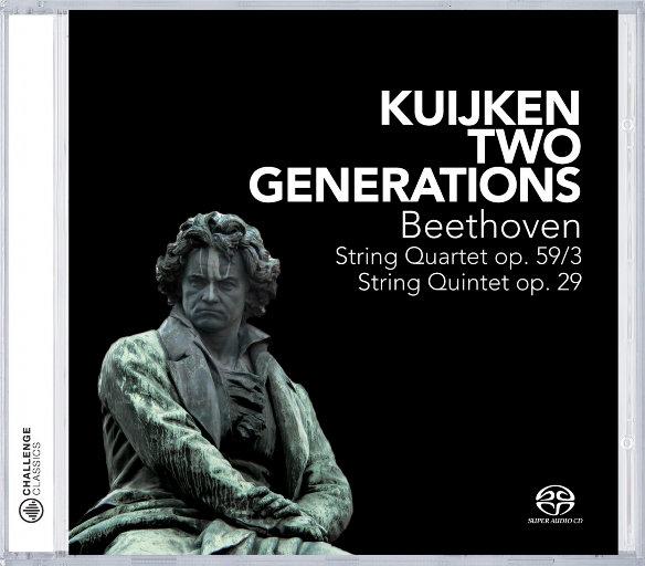 跨时代 (Two Generations),Veronica Kuijken, Sigiswald Kuijken, Sara Kuijken, Wieland Kuijken & Marleen Thiers