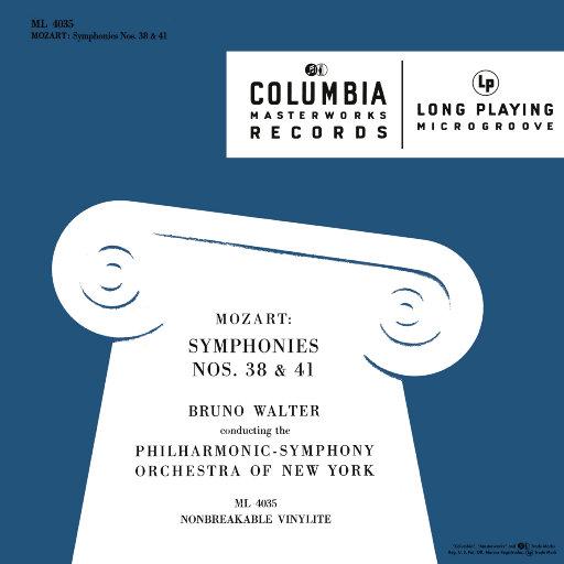 莫扎特: 第38 & 41交响曲 (瓦尔特 & 纽约爱乐乐团),Bruno Walter