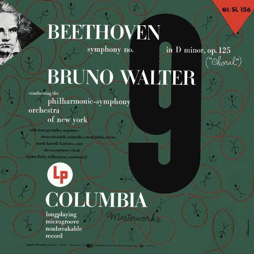 """贝多芬: D小调第九交响曲""""合唱"""" (瓦尔特 & 纽约爱乐乐团),Bruno Walter"""