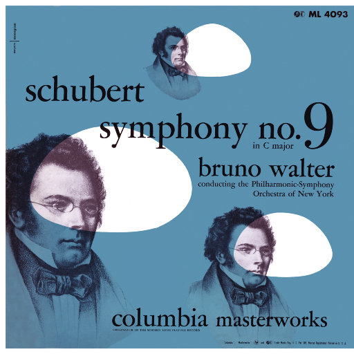 """舒伯特: 第九交响曲""""伟大"""" & 勃拉姆斯: 命运之歌 (瓦尔特 & 纽约爱乐乐团),Bruno Walter"""