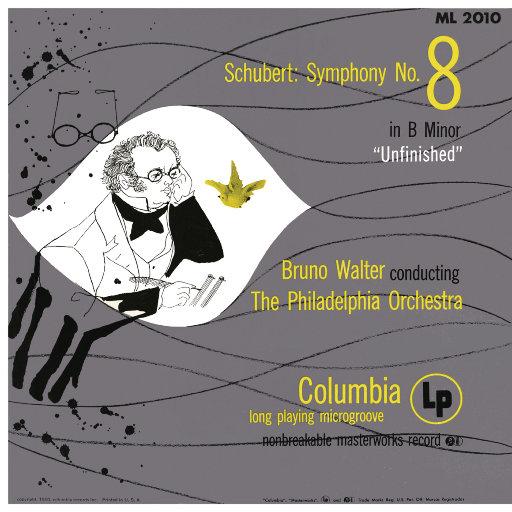 """舒伯特: B小调第一交响曲""""未完成"""" (瓦尔特 & 费城管弦乐团),Bruno Walter"""