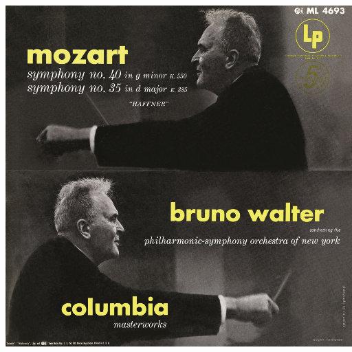 莫扎特: 第35 & 第40交响曲 (瓦尔特 & 纽约爱乐乐团),Bruno Walter