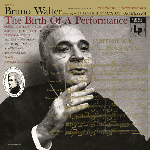 """莫扎特: C大调第36号交响曲 """"林兹"""", K. 425 & 彩排 (瓦尔特 & 哥伦比亚交响乐团),Bruno Walter"""