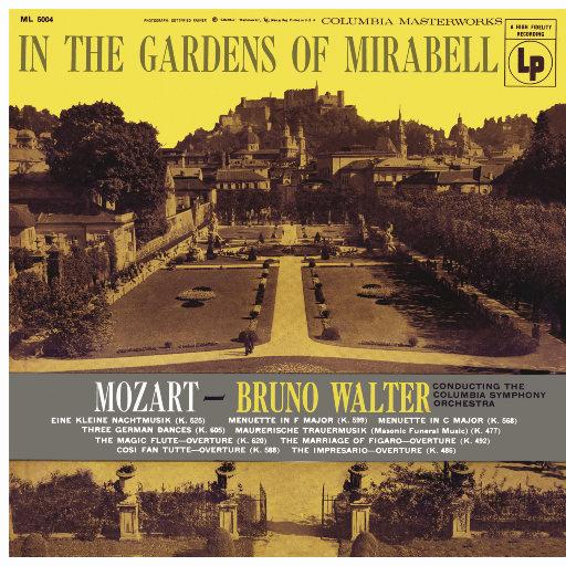 莫扎特: 弦乐小夜曲 (Eine kleine Nachtmusik, K. 525) & 三首德国舞曲, K. 605 & 歌剧序曲 [瓦尔特 & 哥伦比亚交响乐团],Bruno Walter