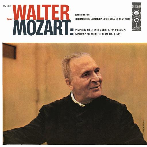 莫扎特: 第39 & 第41交响曲 (瓦尔特 & 纽约爱乐乐团),Bruno Walter
