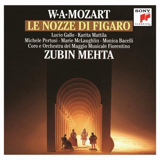 莫扎特: 《费加罗的婚礼》[祖宾·梅塔 & 纽约爱乐乐团],Zubin Mehta