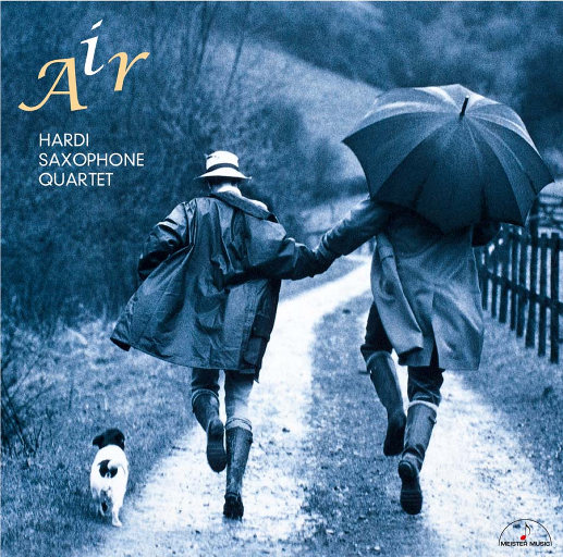 G弦之歌 (Air) - 萨克斯四重奏作品集,Hardi Saxophone Quartet
