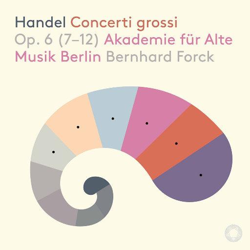 亨德尔: 大协奏曲 Op. 6 (第7-12部),柏林古乐学院管弦乐团,Bernhard Forck