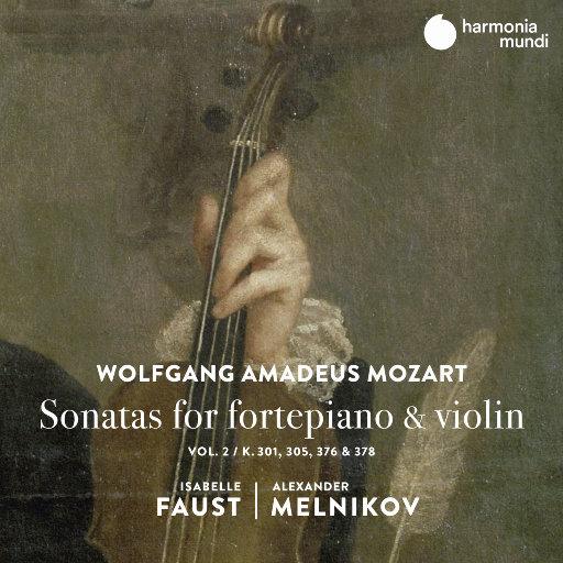 莫扎特: 古钢琴&小提琴奏鸣曲 (Vol.2),Isabelle Faust,Alexander Melnikov