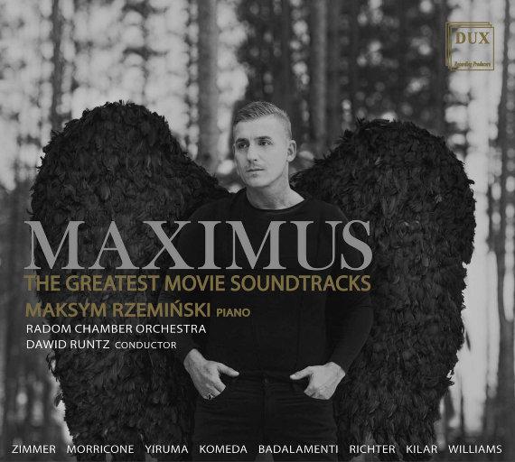 最受欢迎的电影音乐原声改编 (Maximus: The Greatest Movie Soundtracks),Maksym Rzemiński,Radom Chamber Orchestra,Dawid Runtz