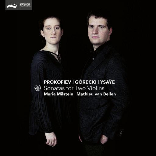双小提琴奏鸣曲 [2.8MHz DSD],Maria Milstein,Mathieu van Bellen