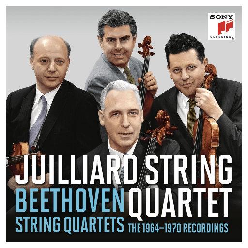 [套盒]茱莉亚弦乐四重奏 - 贝多芬弦乐四重奏合集 (1964 – 1970),茱莉亚弦乐四重奏(Juilliard String Quartet)