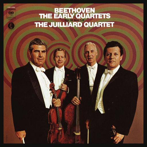 贝多芬: 早期弦乐四重奏, Op. 18, Nos. 1 - 6 (重新灌录),茱莉亚弦乐四重奏(Juilliard String Quartet)
