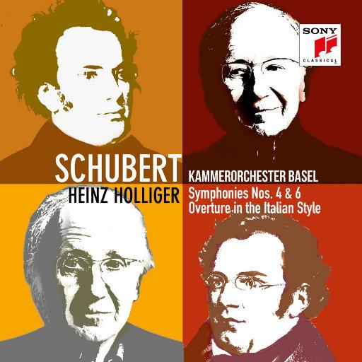 舒伯特:第四 & 第六交响曲,Kammerorchester Basel,Heinz Holliger