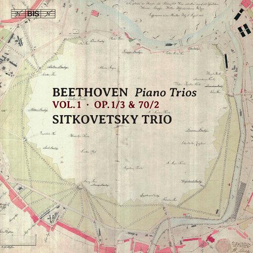 贝多芬: 钢琴三重奏, Vol. 1,Sitkovetsky Trio