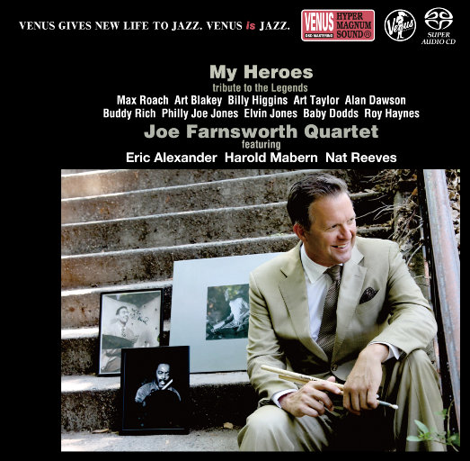 MY HEROES~TRIBUTE TO THE LEGENDS,Joe Farnsworth Quartet