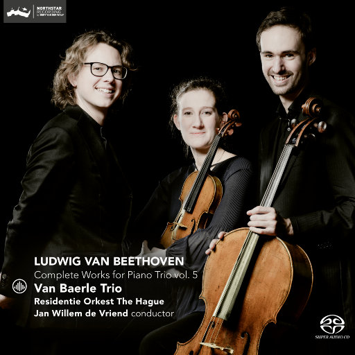 贝多芬:钢琴三重奏全集 (Vol. 5) [2.8MHz DSD],Van Baerle Trio