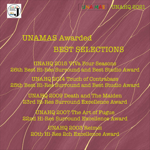 UNAMAS日本专业音乐录音奖获奖作品集 (UNAMAS Awarded Best Selections) [5.1CH],Various Artists