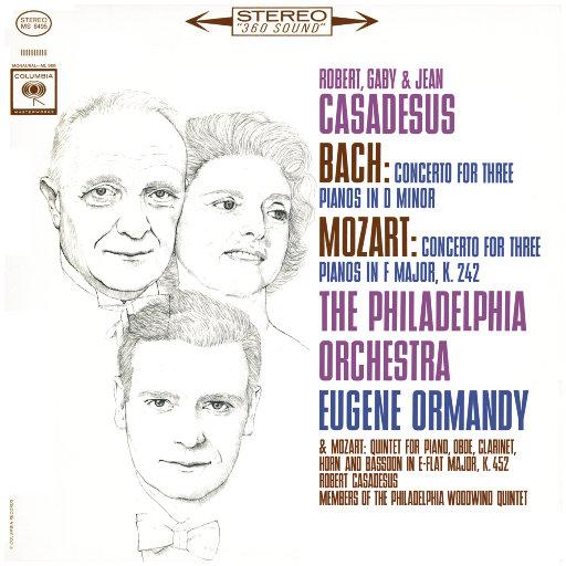 莫扎特: 三架钢琴协奏曲 & 五重奏 / 巴赫: 三架钢琴协奏曲 (尤金·奥曼迪),Eugene Ormandy