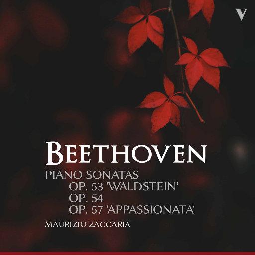 """贝多芬: 第21号""""黎明"""", 22号 & 23号""""热情""""钢琴奏鸣曲,Maurizio Zaccaria"""