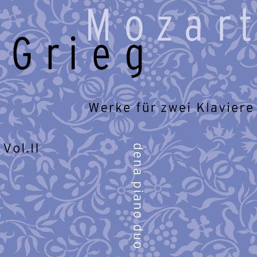 Mozart/Grieg vol. II (352.8kHz DXD),Dena Piano Duo