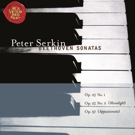 """贝多芬: 钢琴奏鸣曲第13号, 第14号""""月光"""" & 第23号""""热情"""" (彼得·塞尔金),Peter Serkin"""