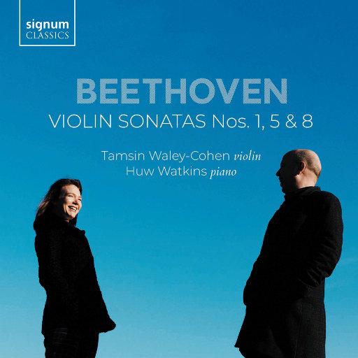 贝多芬: 第 1, 5 & 8 号小提琴奏鸣曲,Tamsin Waley-Cohen,Huw Watkins