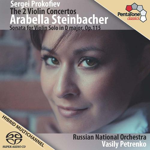 普罗科菲耶夫: 第一和第二小提琴协奏曲 / 小提琴奏鸣曲,Arabella Steinbacher