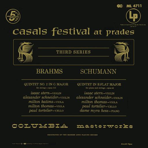 勃拉姆斯: G大调第二五重奏 – 舒曼: 降E大调五重奏 (艾萨克•斯特恩),Isaac Stern