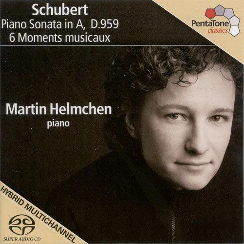 舒伯特: 第二十号钢琴奏鸣曲 & 6首音乐的瞬间,Martin Helmchen