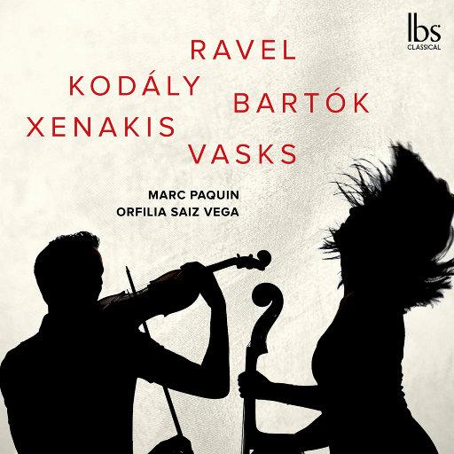 大提琴与小提琴二重奏作品集,Marc Paquin,Orfilia Saiz Vega