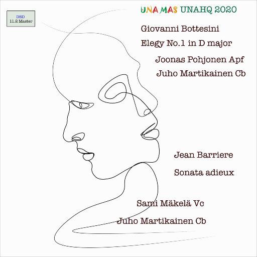 博泰西尼: 第一D大调低音提琴和钢琴挽歌 & 巴里耶尔: 第十钢琴奏鸣曲 [11.2MHz DSD],Joonas Pohjonen,Juho Martikainen,Sami Mäkelä