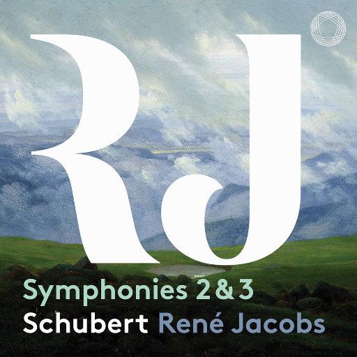 舒伯特: 第二 & 第三交响曲,B'Rock Orchestra,René Jacobs