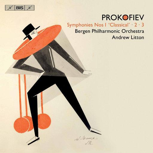 普罗科菲耶夫: 交响曲集 Nos. 1-3,Bergen Philharmonic Orchestra,Andrew Litton