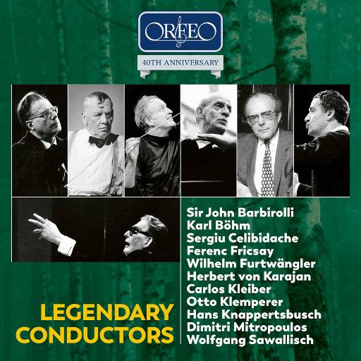 [套盒] 传奇指挥家作品集 - ORFEO 40周年纪念版 [10 Discs],various