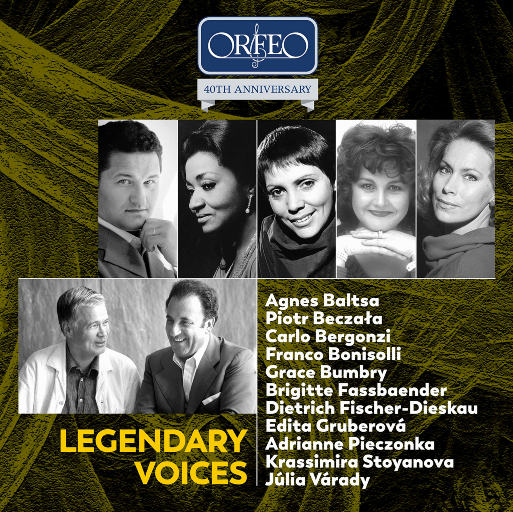 [套盒] 传奇之声作品集 - ORFEO 40周年纪念版 [10 Discs],Various Artists
