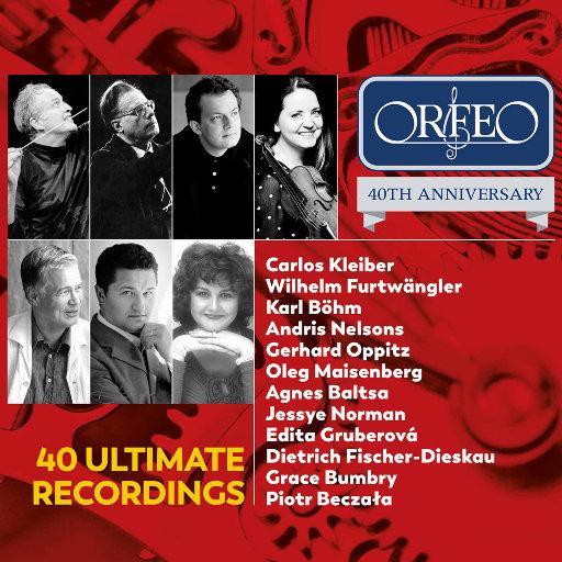 [套盒] 40首录音精选 - ORFEO 40周年纪念版 [2 Discs],various