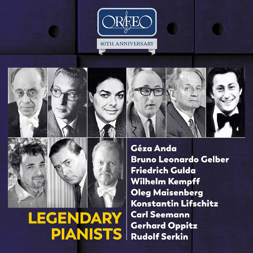 [套盒] 传奇钢琴家作品集 - ORFEO 40周年纪念版 [10 Discs],various
