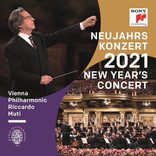 2021维也纳新年音乐会 (里卡尔多·穆蒂,维也纳爱乐乐团),Riccardo Muti,Wiener Philharmoniker