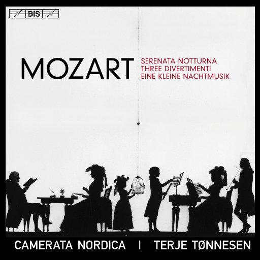 莫扎特: 夜间小夜曲, 三首嬉游曲 & 弦乐小夜曲,Camerata Nordica