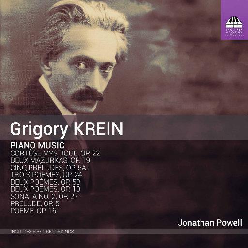 格里高利·克莱恩: 钢琴音乐,Jonathan Powell