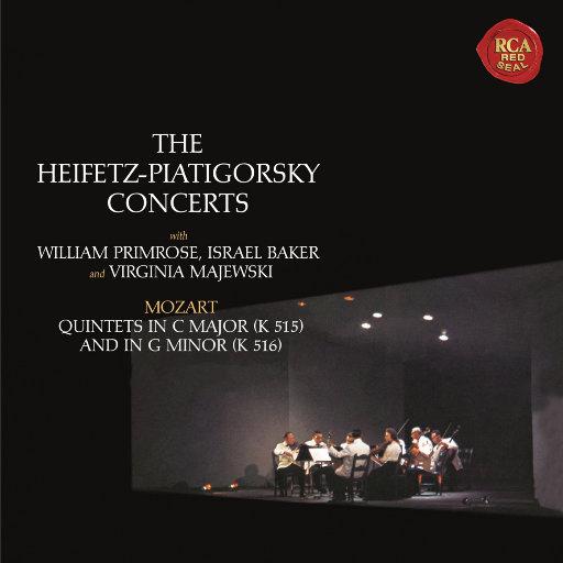 莫扎特: 弦乐五重奏 Nos. 3 & 4 (海菲兹重新灌录版),Jascha Heifetz