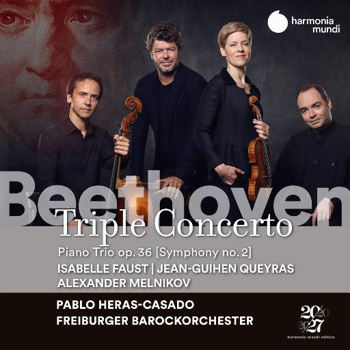 贝多芬: 三重协奏曲与三重奏,Freiburger Barockorchester,Jean-Guihen Queyras,Alexander Melnikov,Pablo Heras-Casado,Isabelle Faust