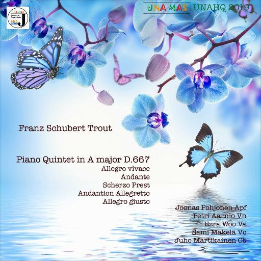 """舒伯特: A大调钢琴五重奏, D. 667 """"鳟鱼"""",Juho Quintet"""
