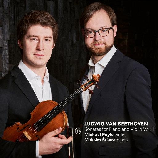 贝多芬: 钢琴与小提琴奏鸣曲, Vol. 1,Michael Foyle,Maksim Štšura