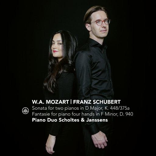 莫扎特:双钢琴奏鸣曲 / 舒伯特: 四手联弹钢琴幻想曲,Piano Duo Scholtes & Janssens