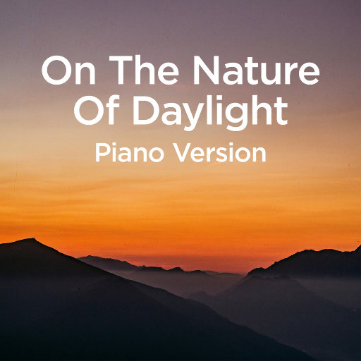 On The Nature Of Daylight,Michael Forster