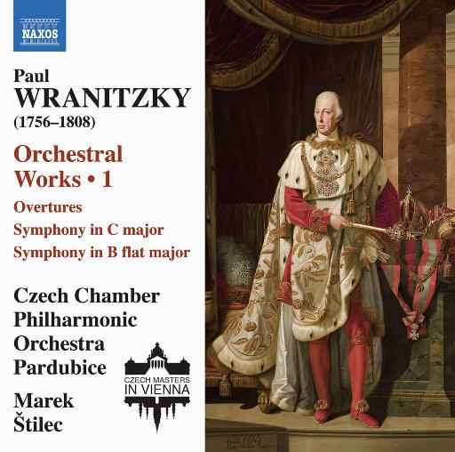 弗兰尼茨基: 管弦乐作品, Vol. 1,Czech Chamber Philharmonic Orchestra Pardubice,Marek Štilec