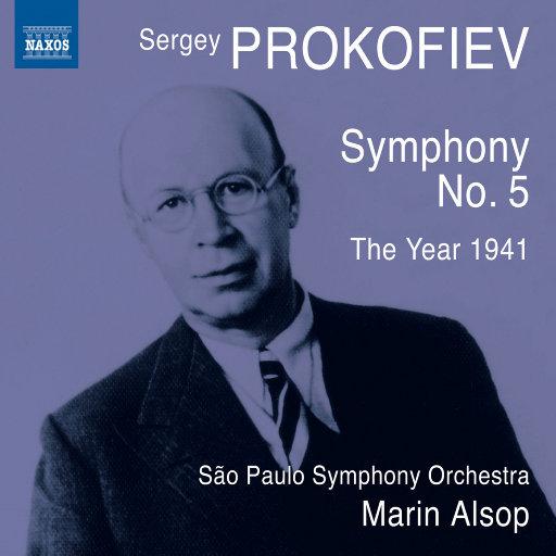 普罗科菲耶夫: 第五交响曲/1941年 ( 圣保罗交响乐团),Marin Alsop